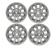"LAND ROVER DEFENDER SAWTOOTH STYLE ALLOY WHEEL SILVER 18""X 8"" SET OF 4 - DA6549"